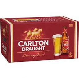 Carlton Draught Stubbies Slab