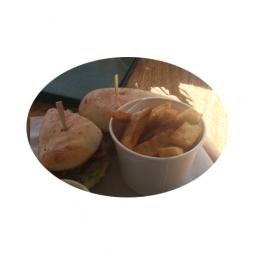 Brioche Buns BLT and Cheese