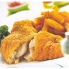 Fish of the day with chips and salad