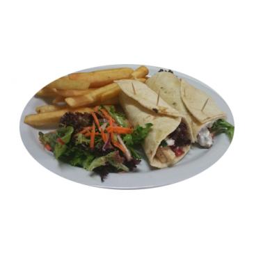 Souvlaki and Chips