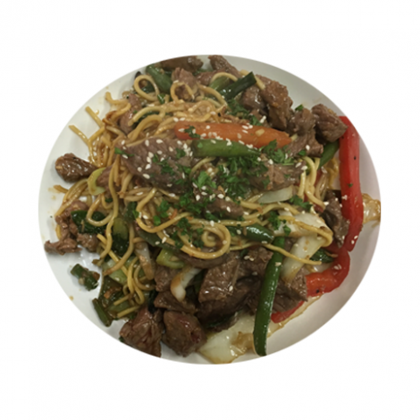 Thai Noodle Stir Fry with Beef